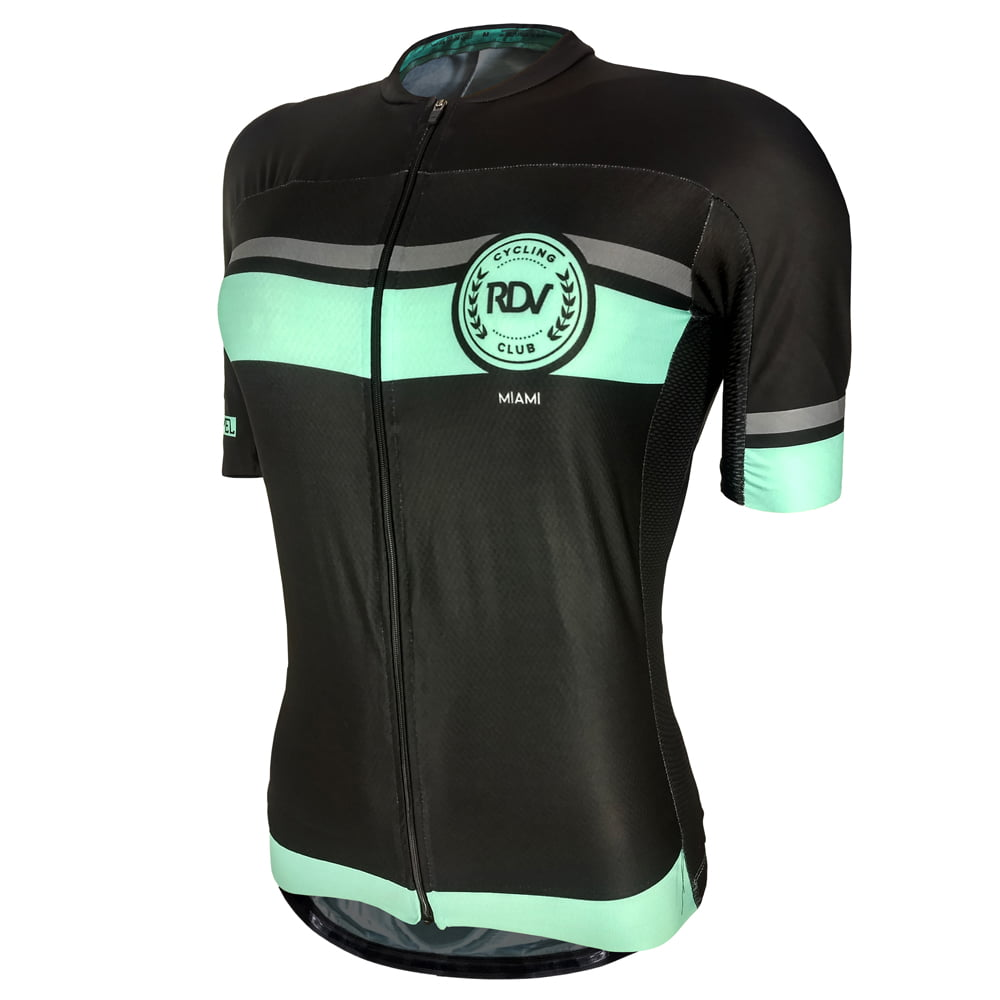 Camisa de Ciclismo Feminina Cycling Club Miami