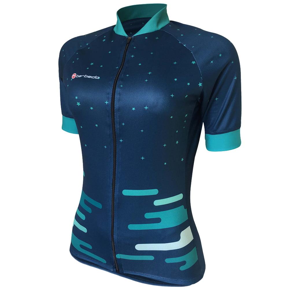 Camisa de Ciclismo Feminina Barbedo Daisy