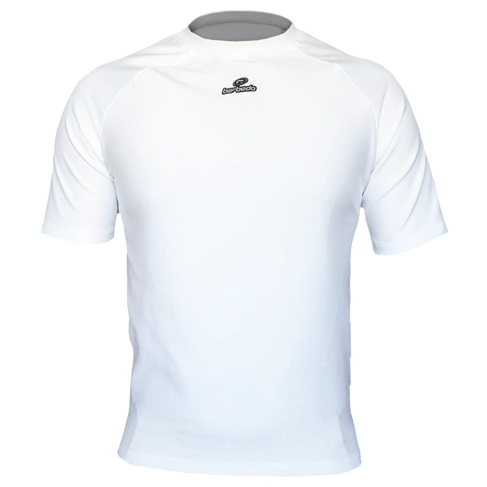 Camisa de Ciclismo Segunda Pele Barbedo Ultra Micro Branca