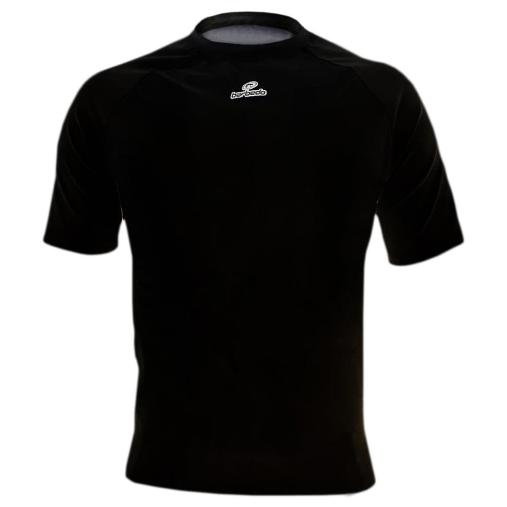 Camisa de Ciclismo Segunda Pele Barbedo Ultra Micro Preta