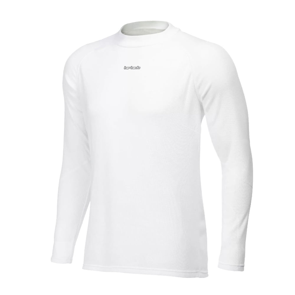 Camisa de Ciclismo Segunda Pele Manga Longa Barbedo Ultra Micro Branca