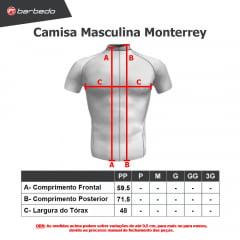 Camisa de Ciclismo Barbedo Monterrey Neon