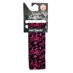 Bandana Tubular Barbedo Bike Black