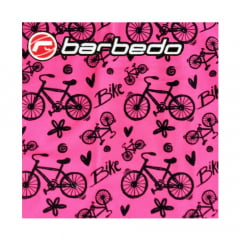 Bandana Tubular Barbedo Bike Pink