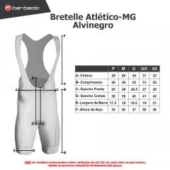 Bretelle de Ciclismo Barbedo Atlético-MG Alvinegro