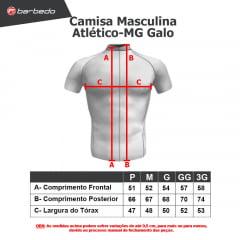 Camisa de Ciclismo Barbedo Atlético-MG Galo