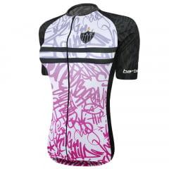 Camisa de Ciclismo Feminina Barbedo Atlético-MG Galáctico