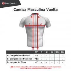 Camisa de Ciclismo Barbedo Vuelta