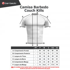 Camisa Barbedo Couch Kills