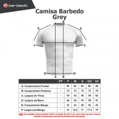 Camisa Barbedo Grey