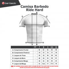 Camisa Barbedo Ride Hard