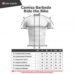 Camisa Barbedo Ride the Bike