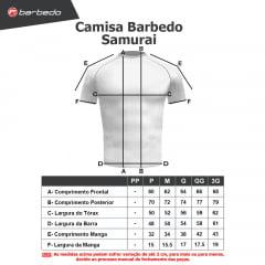 Camisa Barbedo Samurai