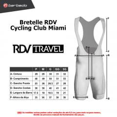 Bretelle de Ciclismo RDV Cycling Club Miami