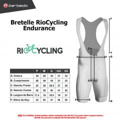 Bretelle de Ciclismo RioCycling Endurance
