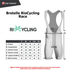 Bretelle de Ciclismo RioCycling  Race