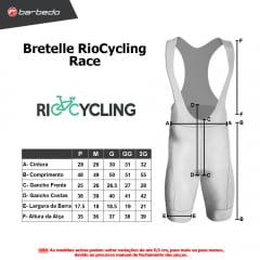 Bretelle de Ciclismo RioCycling  Race