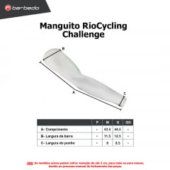Manguito de Ciclismo RioCycling Challenge