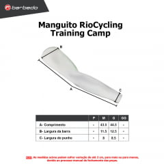 Manguito de Ciclismo RioCycling Training Camp
