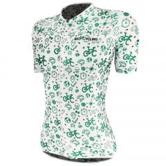 Camisa de Ciclismo Feminina RioCycling Urban Branca