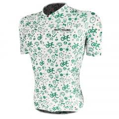 Camisa de Ciclismo RioCycling Urban Branca