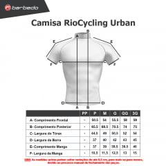 Camisa de Ciclismo RioCycling Urban Verde