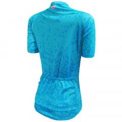 Camisa de Ciclismo Barbedo  Feminina Danúbio