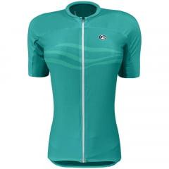 Camisa de Ciclismo Feminina Barbedo Fuji Verde