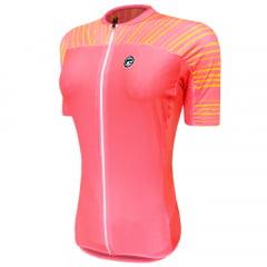 Camisa de Ciclismo Feminina Barbedo Ganges