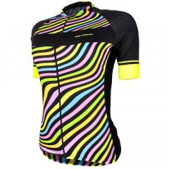 Camisa de Ciclismo Feminina Barbedo Leblon
