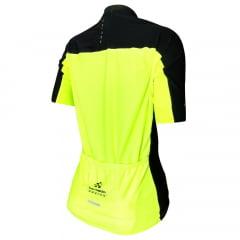 Camisa de Ciclismo Feminina Barbedo Racing Neon
