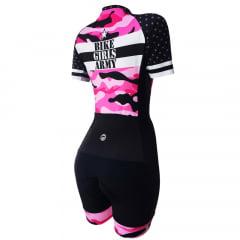Macaquinho de Ciclismo Feminino Barbedo Bike Girls