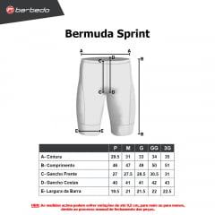 Bermuda de Ciclismo Barbedo Sprint