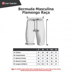 Bermuda de Ciclismo Barbedo Flamengo Raça