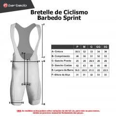 Bretelle de Ciclismo Barbedo Sprint