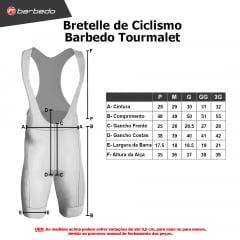 Bretelle de Ciclismo Barbedo Tourmalet