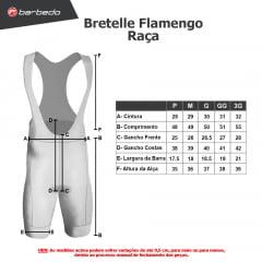 Bretelle de Ciclismo Barbedo Flamengo Raça
