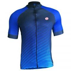 Camisa de Ciclismo Barbedo Annecy Azul