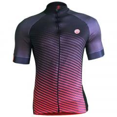 Camisa de Ciclismo Barbedo Annecy Vermelha