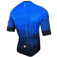 Camisa de Ciclismo Barbedo Hurricane Azul