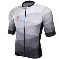 Camisa de Ciclismo Barbedo Hurricane Cinza