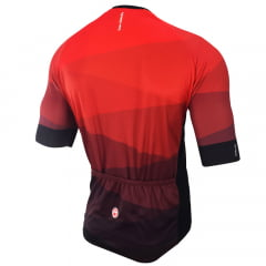 Camisa de Ciclismo Barbedo Hurricane Vermelha