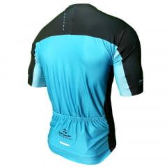 Camisa de Ciclismo Barbedo Racing Azul