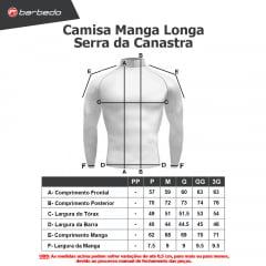 Camisa de Ciclismo Manga Longa Barbedo Serra da Canastra