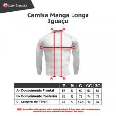 Camisa de Ciclismo Manga Longa Barbedo Iguaçu